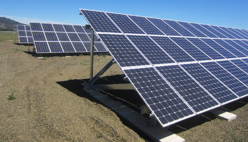 Photo Environmental Initiative Solar Array 2Col